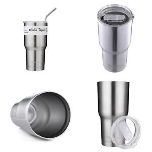 078b4191b1d Image is loading Stainless-Steel-Tumbler-Cup-30-Oz-Thermos-Insulated-