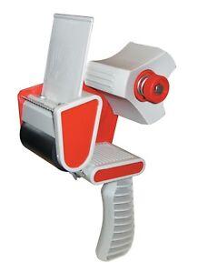 TAPE-GUN-DISPENSER-6-x-ROLLS-OF-FRAGILE-48mm-x-66m-PACKING-PARCEL-REMOVAL-TAPE