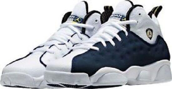 Nike Air Jordan Jumpman Team II BG Mid Navy//White//Varsity