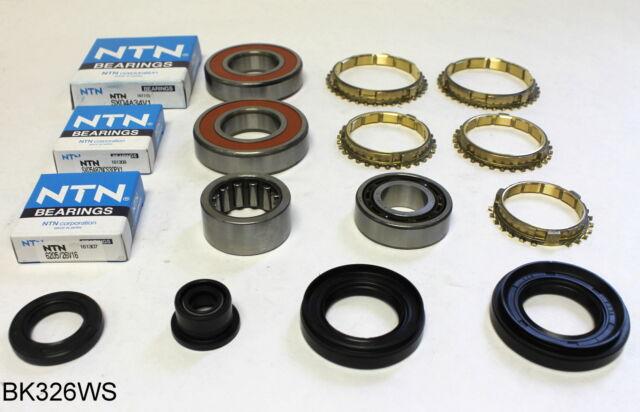 honda civic crx and del sol 5 speed manual transmission rebuild kit rh ebay com Toyota Manual Transmission Rebuild Kits Ford Manual Transmission Rebuild Kits