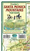 Santa Monica Mountains California Trail Guide Waterproof Map By Franko Maps