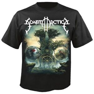 Sonata Arctica Fanartikel & Merchandise Shirts & Hemden The Ninth Hour T-shirt