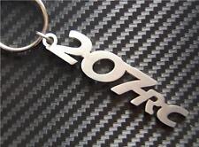207 RC keyring keychain Schlüsselring porte-clés SPORT HDi SE GT 2.0 1.6 1.4 CC