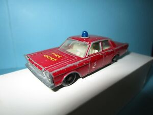 FORD-GALAXIE-FIRE-CHIEF-LESNEY-MATCHBOX-N-55-59-1-66