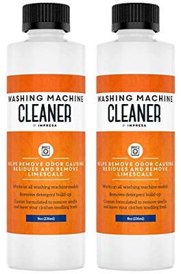 2 Pack Washing Machine Cleaner For All Washers Top Load
