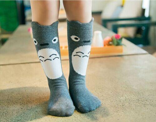 Baby Children Girls Toddler Fox Socks Soft Cotton Knee High Hosiery Tight Leg BT