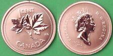 2002 Canada (P Mark) Penny Graded as Specimen From Original Set