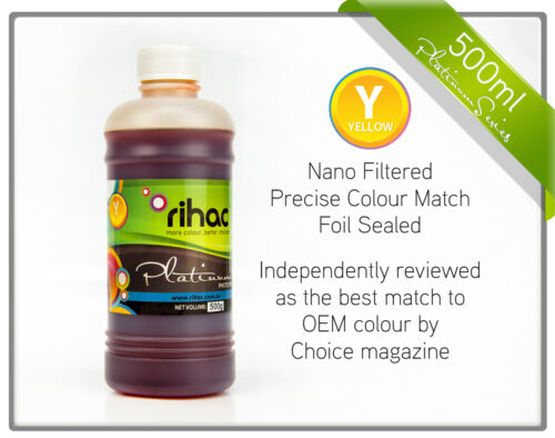 Rihac 500ml Ink for Brother LC133 LC131 printers MFC-J6920 MFC-J870 Refill CISS