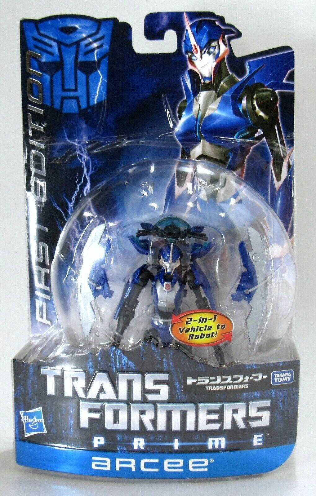 New Sealed Takara Tomy Japan Transformers Prime RID First Edition Arcee 2011