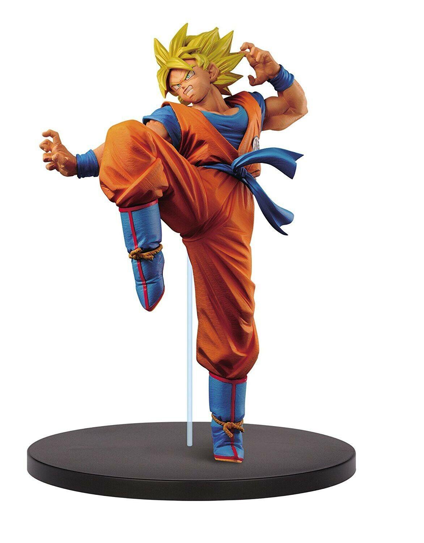 DRAGON BALL Statue 20cm SON GOKU Gokou Super Sayan FES Volume 1 BANPRESTO