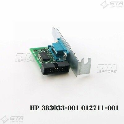 Lot of 10 HP Serial Port RS232 9-Pin 383033-001 012711-001 Low Profile