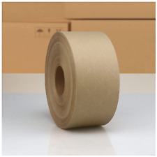 Reinforced Water Activated Gummed Kraft Paper Packing Tape 283inch X 450 Feet 7