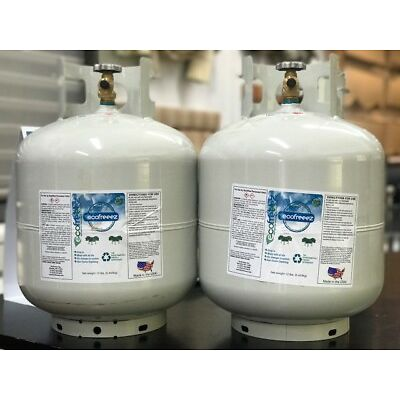 Set of 2-TANKS R22 Replacement - EF-22a Superior Performance for any R22 Systems