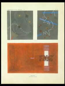 Pierre Legrain, Reliures Art Deco - 1929 - Pochoir, Livre Faust Limpide à Vue