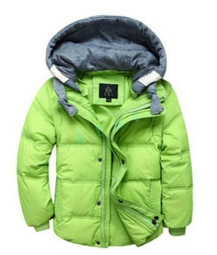 Winter 2017 Children/'s Kid/'s Boys Hoodie Clothing Coats Baby Down Jackets Parkas