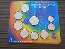 Spanien 2005 Euro KMS 3,88 und 2 Euro Gedenkmünze Sondermünze Don Quichote ST