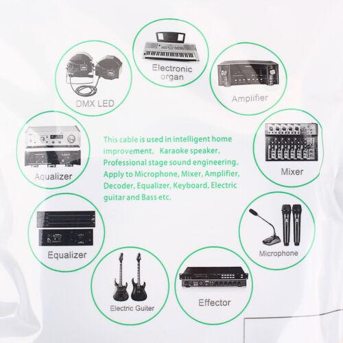 3m USB MIC Kabel Zum 3Pin Stecker Zum XLR Buchse Mikrofonkabel Adapter
