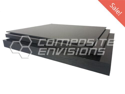 """Économie de plaque fibre de carbone Outillage Board 2x2 Twill .25/""""//6.35mm 6/""""x6/"""""""