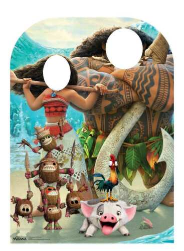 MOANA PHOTO KIDS STAND IN CUTOUT