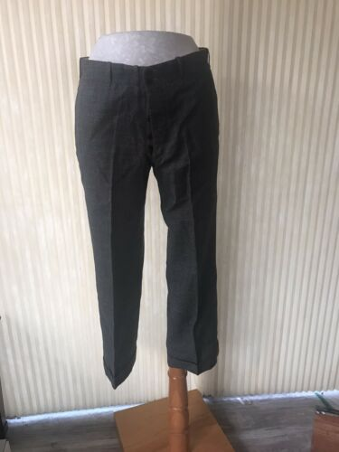 Vintage Men's 1930's Gray cuffed pants