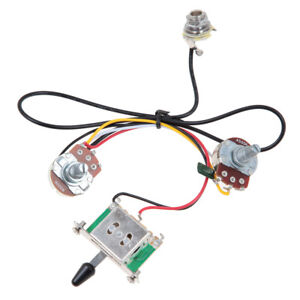 two pickup guitar wiring harness 3 way blade switch 500k single pole switch wiring diagram