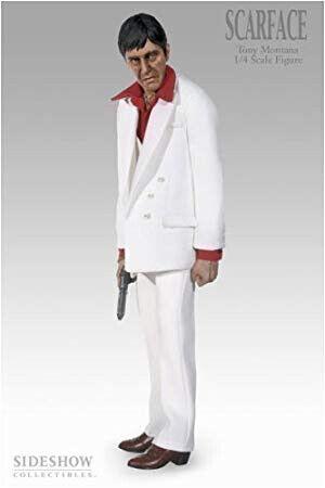 Sideshow 1 4 Scale Tony Montana Scarface Premium Figure