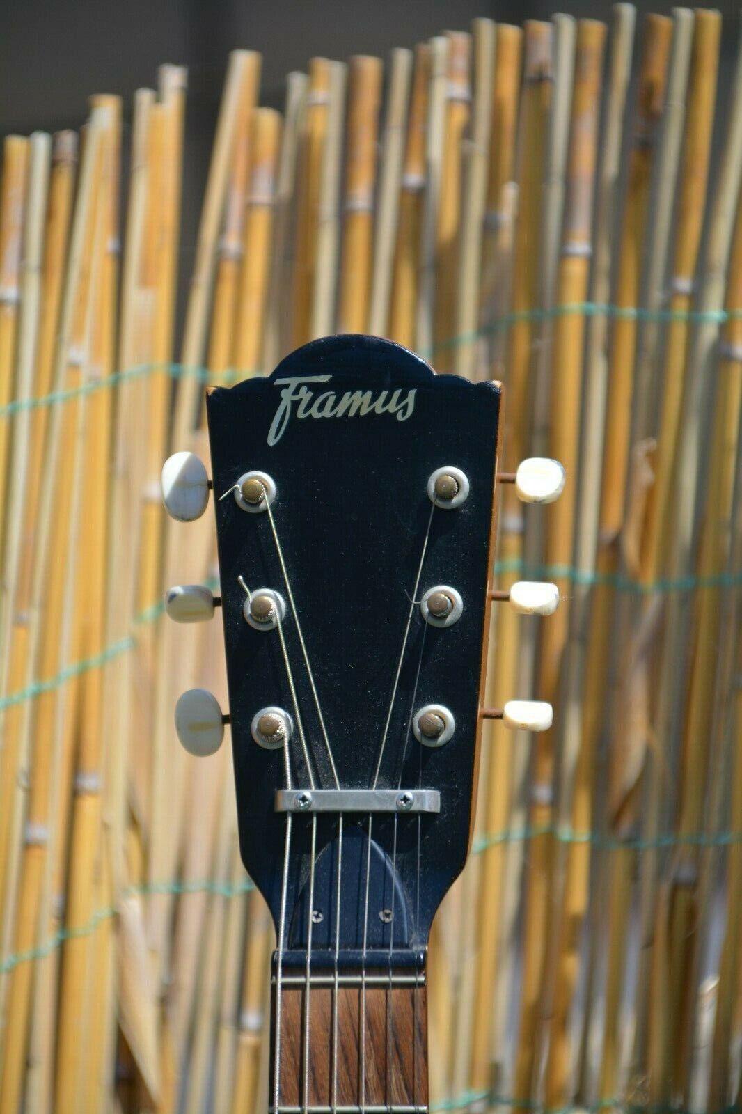 Alte Gitarre Framus Guitar Konzertgitarre