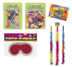Piñata accessoires et charges-Party Game-Stick - jouets - bonbons - bonbons - l'aveugle-ets-Candy-Blindfoldafficher le titre d`origine e2EU6R5v-07221637-301478424