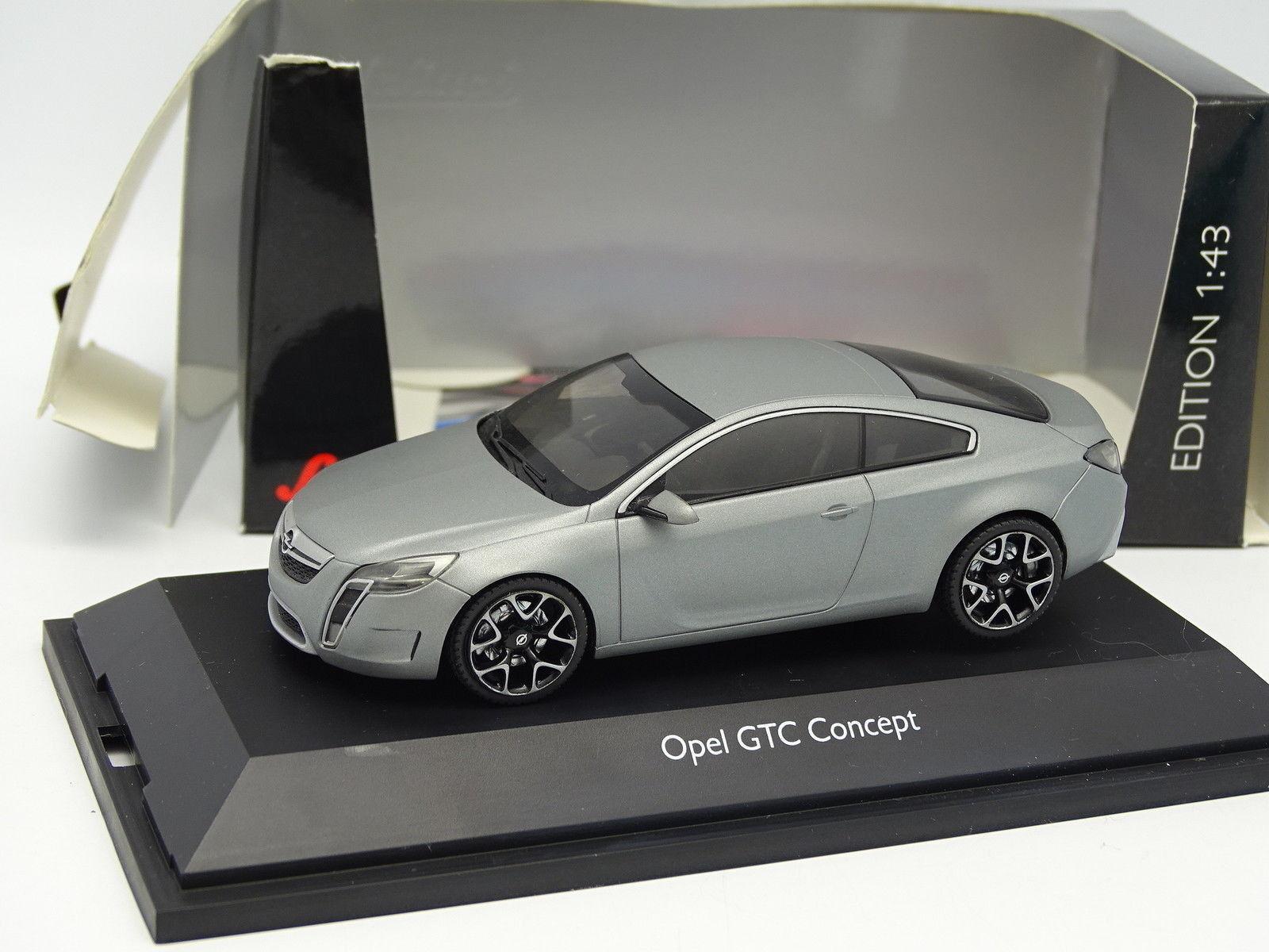 Schuco 1 43 - Opel GTC Concept gris