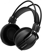Pioneer Hrm-7 Studio Headphones Entertainment Sound Bass Music Dance Producers