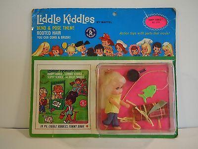Vintage Rare Liddle Kiddles Kampy Kiddle No. 3753 Mint In Original Display Card