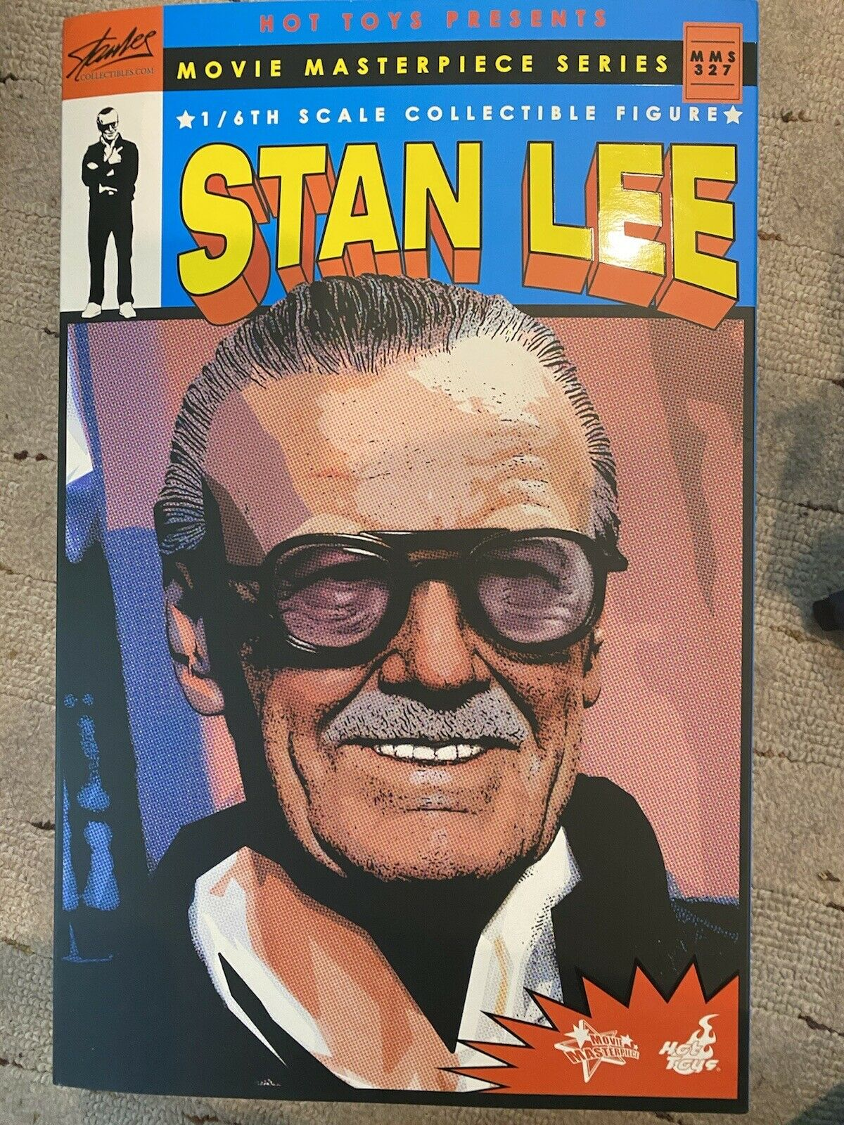 Hot Toys 1/6th Scale Marvel Stan Lee MMS327 on eBay thumbnail