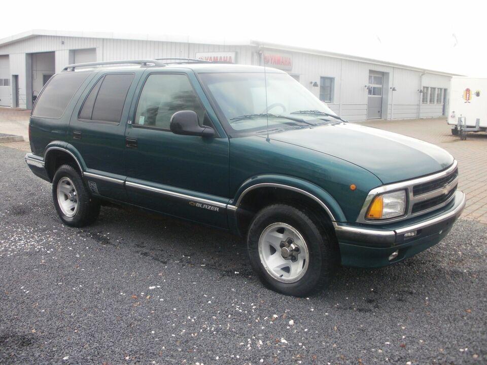 Chevrolet Blazer 43 4x2 Benzin Dba Kb Og Salg Af Nyt Og Brugt