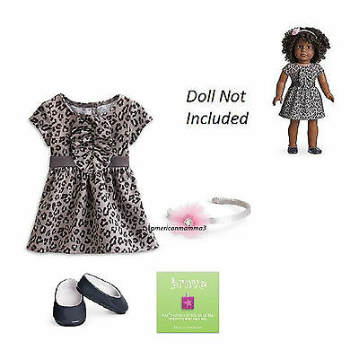 "American Girl My Ag Süße Savannah Kleid Für 18 "" Puppen Kleidung Schuhe Neu"