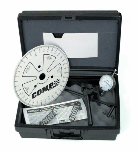 COMP CAMS 4796 UNIVERSAL CAM DEGREE KIT WITH CYLINDER HEADS ON