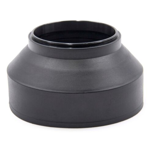 LENS HOOD RUBBER 62mm black for Sigma 105 mm 2.8 EX DG OS HSM Makro