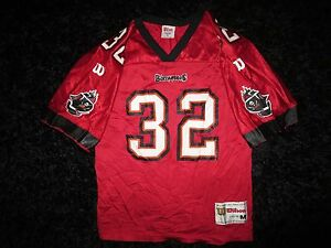 sports shoes 7bc47 05637 Details about Eric Rhett #32 Tampa Bay Buccaneers Wilson NFL Jersey Youth M  10-12 Florida