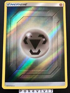 Carte-Pokemon-ENERGIE-METAL-Holo-Reverse-Soleil-et-Lune-11-5-SL11-5-FR-NEUF