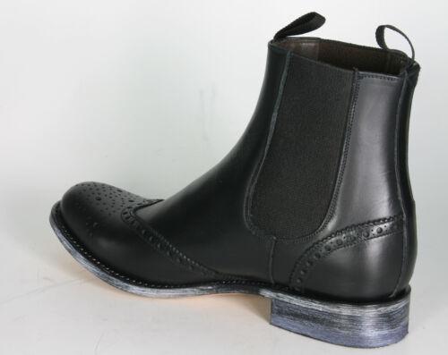 Sendra Schuhe Schwarz 10049 Chelsea Ciclon Boots Rahmengenähte Negro BnwgqPd8