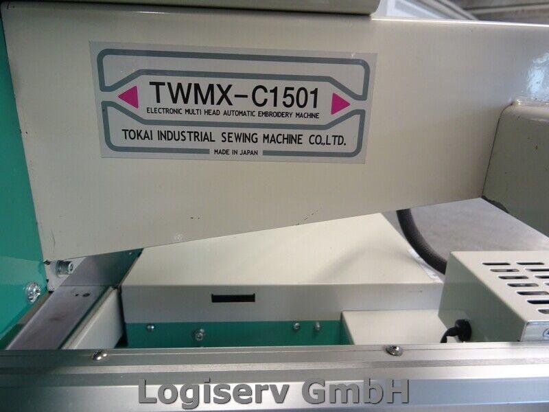 Bild 2 - Tajima TWMX-C 1501 MFG Stickautomat 15 Nadeln Stickmaschine