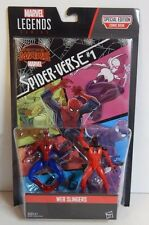 "Marvel Legends Series 3 3/4"" Web Slingers two pack Comic Book Spider-man verse!"