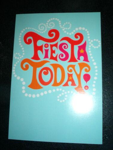 "/""   SHOEBOX  #61 HALLMARK BIRTHDAY CARD /""FIESTA TODAY"
