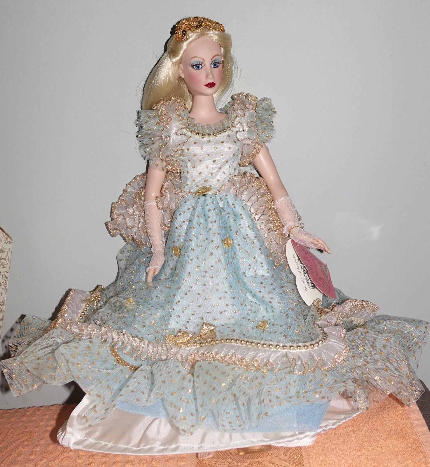 Franklin Mint Heirloom by Marice Nicole Cinderella Vinyl Doll