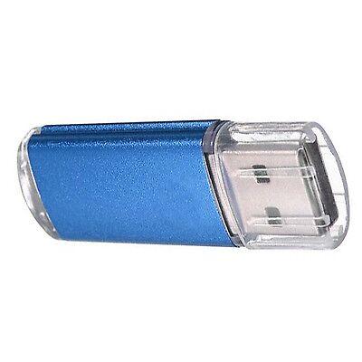 64 GB USB 2.0 Flash Memory Stick Drive Storage Thumb Drive Pen U Disk BLUE