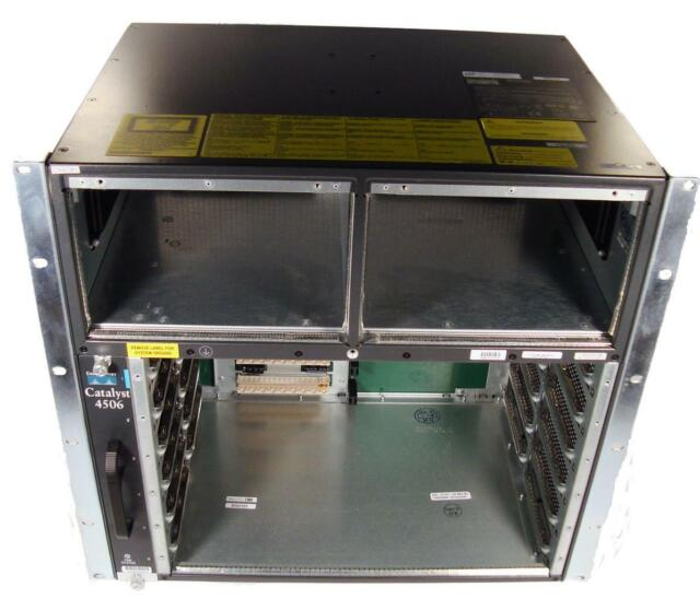 Cisco WS-C4506 Catalyst 4500 6-Slot Switch Chassis
