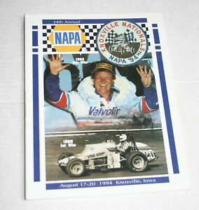 1994-34TH-ANNUAL-KNOXVILLE-NATIONALS-OFFICIAL-PROGRAM-STEVE-KINSER-STEVIE-SMITH