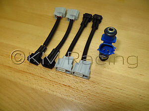 Admirable 4X Acura Rdx 410Cc To Honda Obd2 Fuel Injector Wiring Harness Wiring Digital Resources Indicompassionincorg