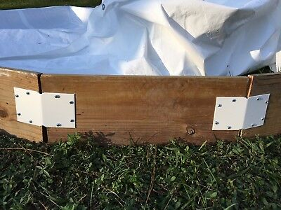 WHITE TARP 30ft x 60ft HEAVY DUTY ICE RINK LINER BACKYARD RINK LINER 30x60