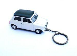 Mini Cooper Porte-cl/és Bullit en M/étal Argent/é