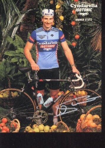 WERNER STUTZ cyclisme Autographe ISOTONIC swiss champion champion champion tour suisse signed 06b204